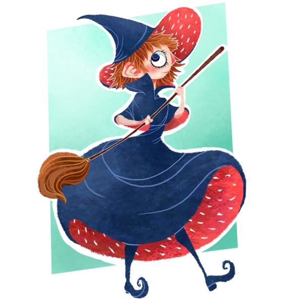strawberry-witch